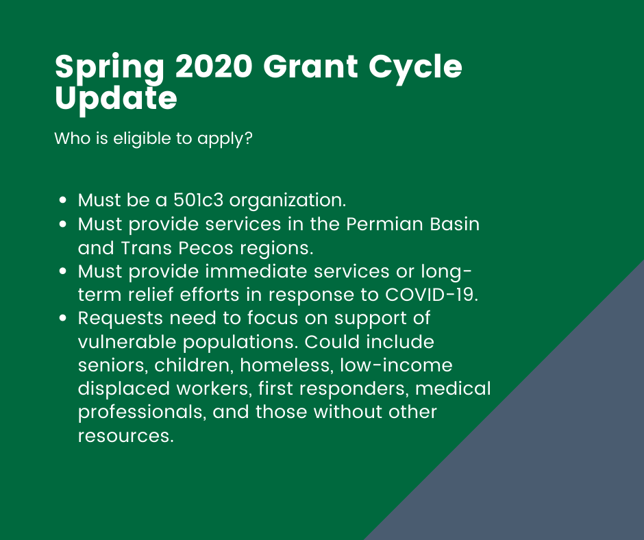 Spring 2020 Grant Cycle Update 2 (1)