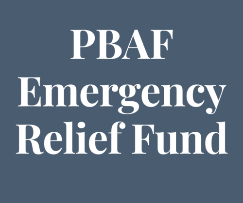 PBAF Emergency Relief Fund